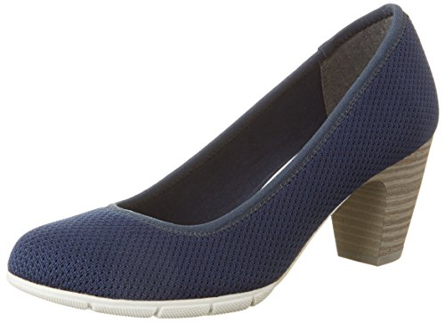 s.Oliver Damen 22408 Pumps Blau (NAVY 805)