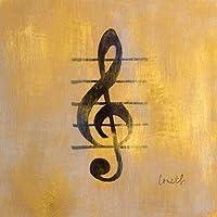 Amazon It Chiave Di Violino Stampe E Quadri Su Tela Stampe E