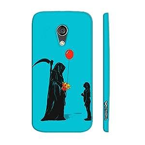 Motorola Moto G2 2nd Gen Cheater Reaper designer mobile hard shell case by Enthopia