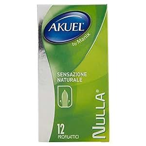 Akuel Nulla, Preservativi Sottili, 12 Pezzi