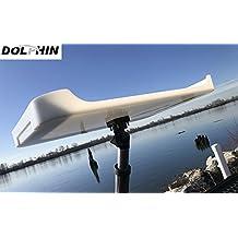 Delfín T Top Ajustable para Barco de Pesca, Mesa de Cebo Más 1 Soporte para