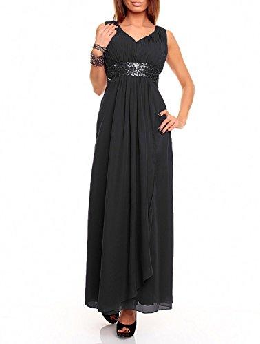Astrapahl Damen Kleid br09111ap, Schwarz (Schwarz), 38