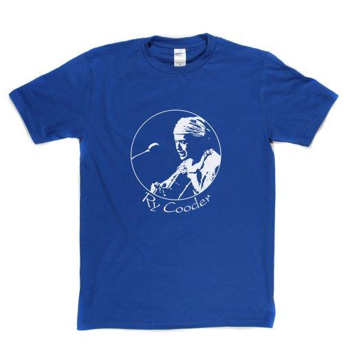 Ry Cooder Ryland American Musician Slide Guitar Roots Music T-shirt Königsblau