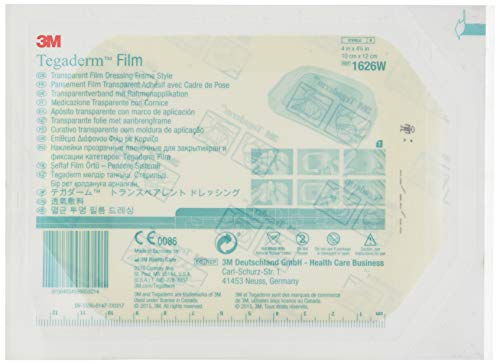 3 M 34901 Tegaderm Folie transparent, 10 cm x 12 cm, Box von 50 -