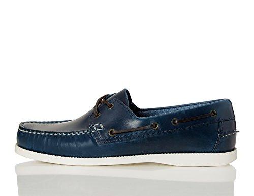 find-classic-chaussures-bateau-homme-bleu-navy-45-eu