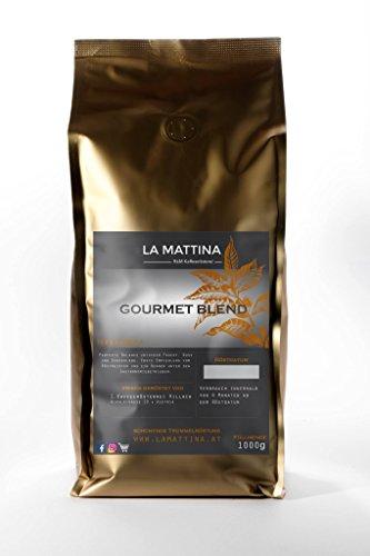 Gourmet Blend, Kaffee Handgeröstet, Tromelröstung, Premim Kaffeebohnen, Espresso Bohnen, 100%...