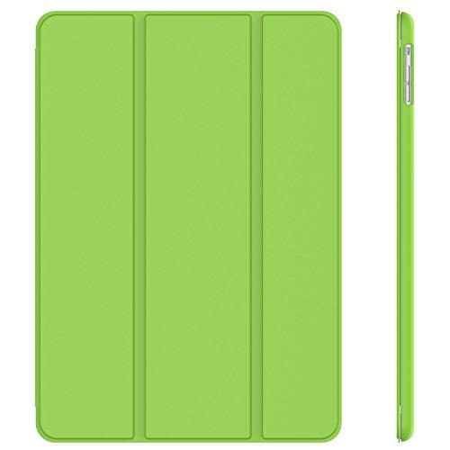 JETech® GOLD Slim Fit iPad Air Case–Smart Case Cover für New Apple iPad Air 5th Generation mit interne Magnet für die Sleep/Wake-Funktion–Grün Apple Ipad Air Gold
