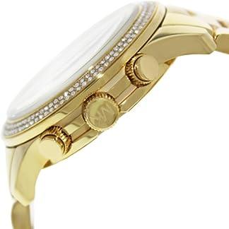 Michael Kors MK5575 – Reloj con correa de acero para mujer, color dorado / gris