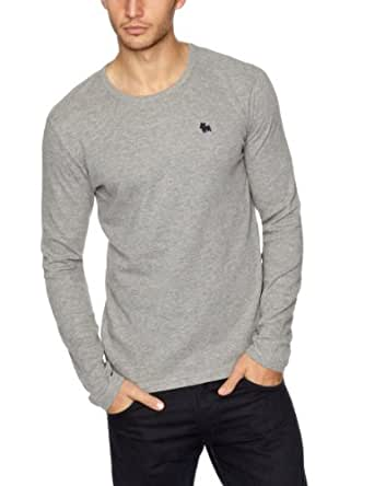 Jack and Jones Frash Men's T-Shirt Light Grey Melange Large