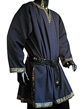 Tunika mit langem Arm, blau, Grö