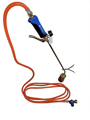 Kemper Abflammgerät mit 60 mm Brenner inkl. Regler u. 5 Meter Schlauch 0,5-3 bar