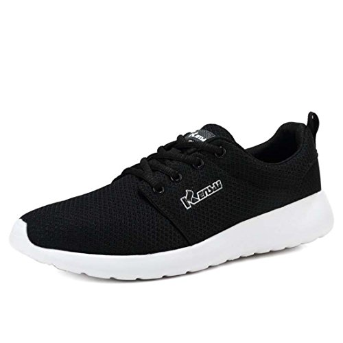 Men's Mesh High Quality Breathable Running Shoes 1601 black