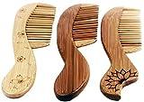 1 X Fair Trade vietnamesischen Vietnam Bambus Holz Kamm 19 cm