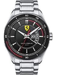 Scuderia Ferrari Gran Premio Mens Day & Date Watch 0830189