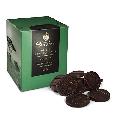 Struben Tanzania - Kakao 75% - Dunkle Schokolade - Jede Struben Herkunftsschokolade hat seine originale und vielschichtige Aromenvielfalt.