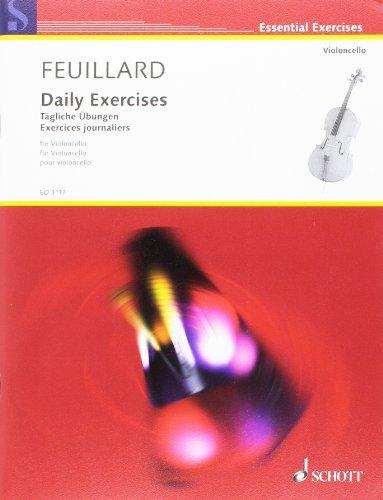 Exercices journaliers - Violoncelle par Feuillard Lr