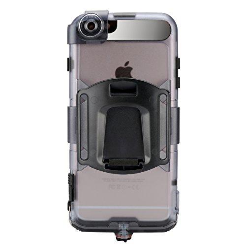 iPhone 7 Plus / iPhone 8 Plus Wasserfeste Hülle, Lifeepro IP68 Zertifiziert Wasserdicht Ultra Dünn Outdoor Handy Hülle Stoßfest Staubdicht Staubdicht Kratzfestes Gehäuse Full Body Robuste Schutzhülle  Schwarz 1
