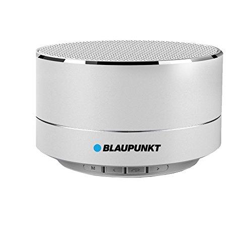 Blaupunkt blp3100.143 Altavoz Bluetooth LED, Radio; 5W, Batería 400 mAh, MicroSD, 10...