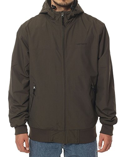 Carhartt uomo giacche Hooded Sail Jacket, cypress/black, M
