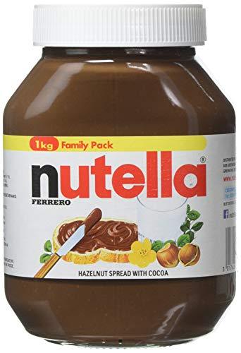 Nutella Hazelnut Chocolate Spread, 1kg