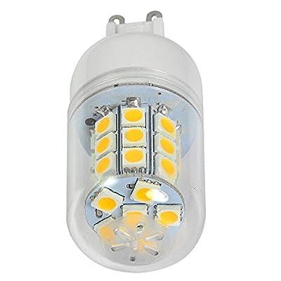 6X MENGS G9 5W LED Mais Licht Birne 30x 5050 SMD LEDs LED Lampe Leuchtmittel (Warmweiß 3000-3500K, 350lm, 360º Abstrahlwinkel, AC 220-240V, Ø32 x 75mm) Energiespar lampe von GumpTrade bei Lampenhans.de