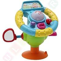 Volante interattivo con i suoni, Mia prima volante, Giocattoli di attivit? per la auto, Volante Per Sedile Posteriore, Volante per bambini con suoni e luci, Volante auto per bebé, Volante Interattivo, Volante giocattolo, Volante giocattolo per auto