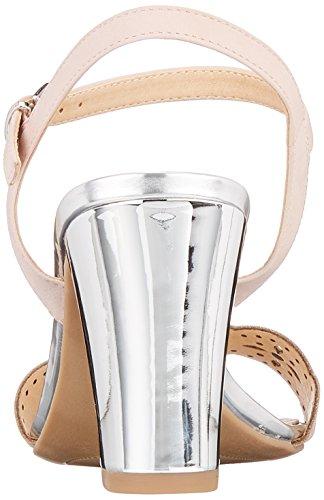 Caprice Damen 28303 Slingback Sandalen Pink (Rose Waxy Nap 562)