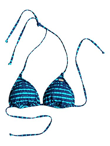 Roxy Pop Swim Tri Bikini Top, donna,