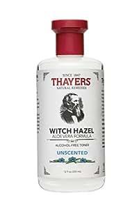 Thayer's Thayers Alcohol-Free Unscented Witch Hazel With Organic Aloe Vera Formula Toner 12 Fl Oz (355 Ml)