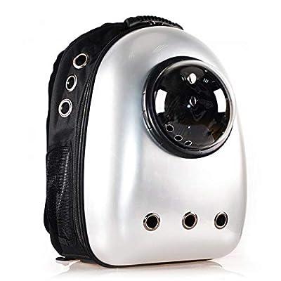Mochila Space Capsule, Mochila Transpirable para Gatos y Gatos, Bolsa Transparente para Mascotas, ecológica y portátil, múltiples Salidas de Aire Transpirables de FLHLH.CO