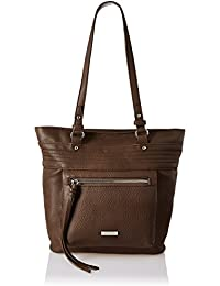 Lino Perros Women's Handbag (Dark Brown)