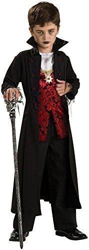 Jungen Vampir Graf Dracula Halloween Kostüm Kleid Outfit 4-12 jahre - 8-10 (Kostüm 9 Halloween 11)