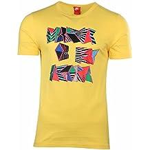 Nike da uomo futuro bruno Brasil Soccer t-shirt-yellow-small
