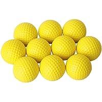 VORCOOL Practique Las Pelotas de Golf, Las Pelotas de Golf de Entrenamiento Interiores Elásticas Suaves de Perfectas para el hogar y la Oficina 10pcs