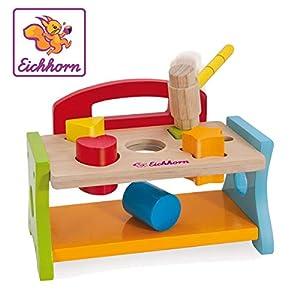 Eichhorn 100005090 Juego Educativo Child Niño/niña - Juegos educativos (Multicolor, Child, Niño/niña, 1 año(s), FSC 100%, 180 mm)