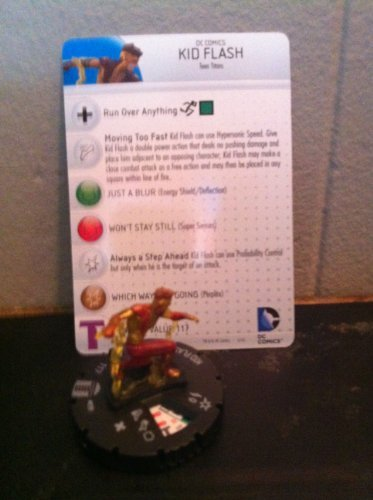 Heroclix DC Teen Titans #039 Kid Flash Figure with Card