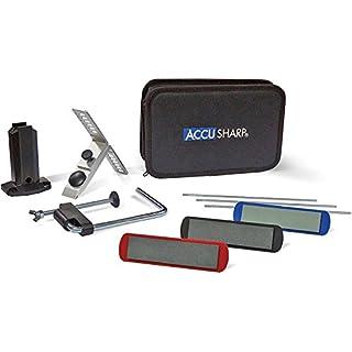 ACCUSHARPPrecision 3 Stone Knife Sharpener Kit, Black