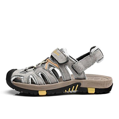 Baotou, sandales d'été/sandales/Respirant pare-chocs trou plein air patins F