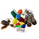 PJ Pet Products Value Pack of 4 Soft Dog Toys