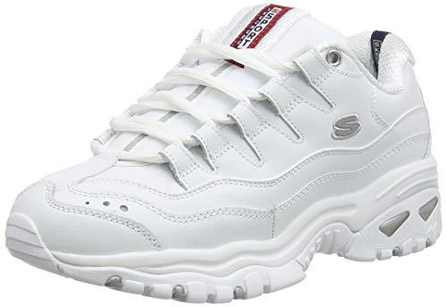 Skechers Energy, Zapatillas para Mujer, Blanco (Wml), 36 EU