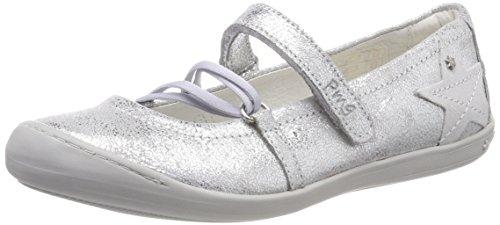 (Primigi Mädchen Pug 14412 Geschlossene Ballerinas, Silber (Argento 11), 31 EU)