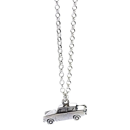 Offizielle Harry Potter Sterling Silber Ford Anglia Fliegen-Auto-Charme-Halskette - Boxed (Harry-potter-ford Anglia)