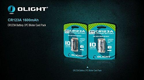 Olight OL-CR123A-DE