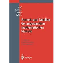 Formeln und Tabellen der angewandten mathematischen Statistik (German Edition)