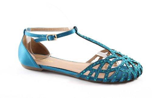 GEMMA E242 mare sandali donna punta chiusa cinturino tallone 41