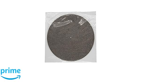 Reduziert Vibrationen Eliminiert statische Aufladung SPINCARE Premium 3 mm Korkmatte f/ür Vinyl-Plattenteller rutschfest