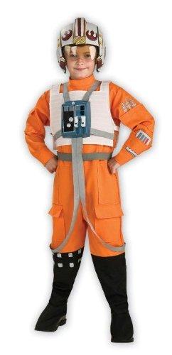 Rubies 883164 - Star Wars X-Wing Pilot Kinderkostüm - M-128cm