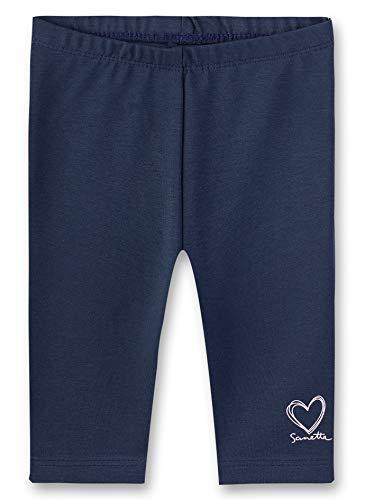 Sanetta Baby-Mädchen Leggings, Blau (Nordic Blue 5962), 68 (Herstellergröße: 068)