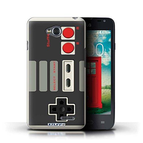 Coque de Stuff4 / Coque pour LG L65/D280 / Nintendo Design / Console (jeux vidéo) Collection