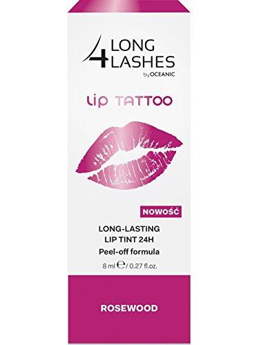 LONG4LASHES LIP TATTOO Permanent Lippen Makeup, 24H, Rosewood 8ml (Lip Tattoos Kostenloser Versand)